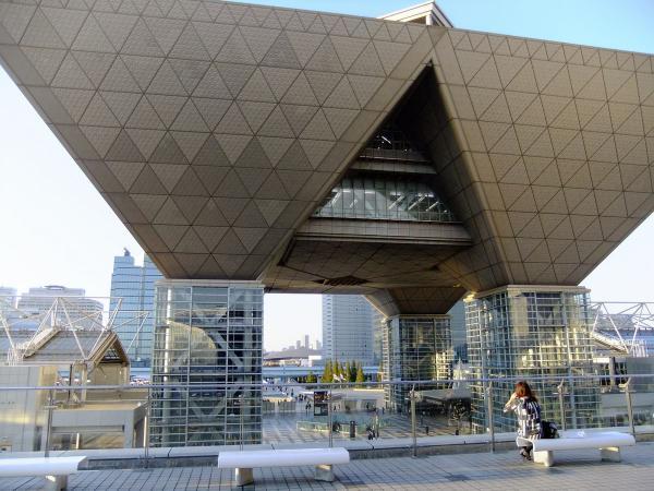 東京ビッグサイト7〔フリー写真〕