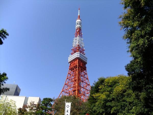 東京タワー1〔フリー写真〕
