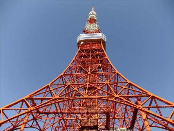 東京タワー4〔フリー写真〕