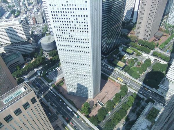 東京都庁・新宿副都心15  〔フリー写真〕