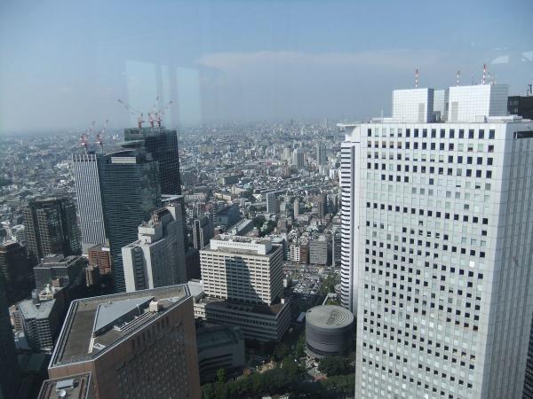 東京都庁・展望台6 〔フリー写真〕