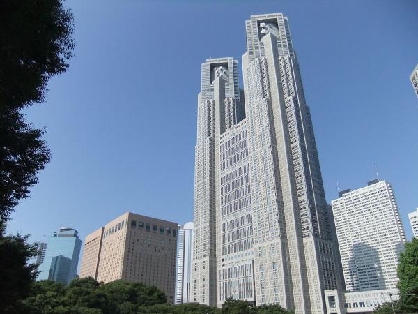 東京都庁・新宿副都心7 〔フリー写真〕