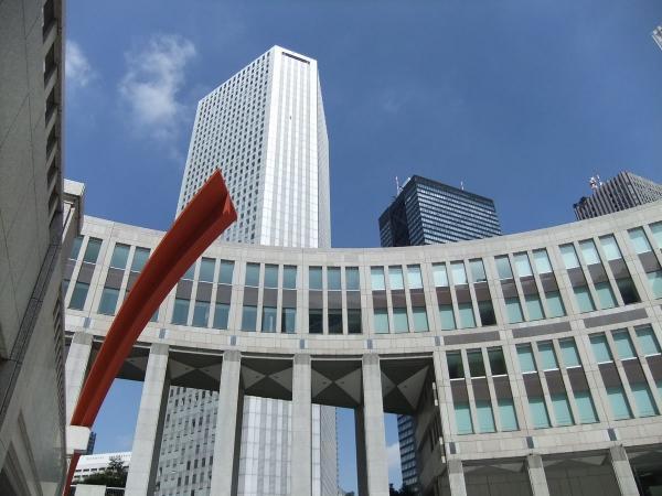東京都庁・新宿副都心13〔フリー写真〕