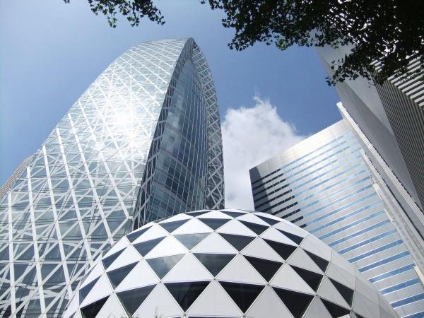 新宿超高層ビル群1〔フリー写真〕