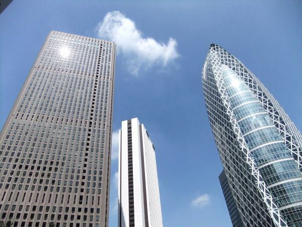 新宿超高層ビル群2〔フリー写真〕
