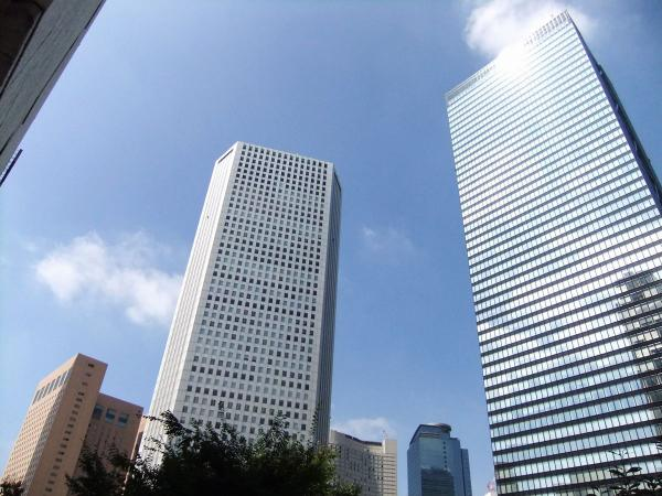 新宿超高層ビル群3〔フリー写真〕