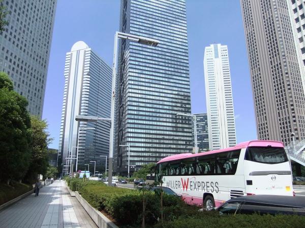 新宿超高層ビル群4〔フリー写真〕