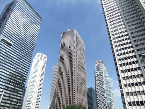 新宿超高層ビル群5〔フリー写真〕