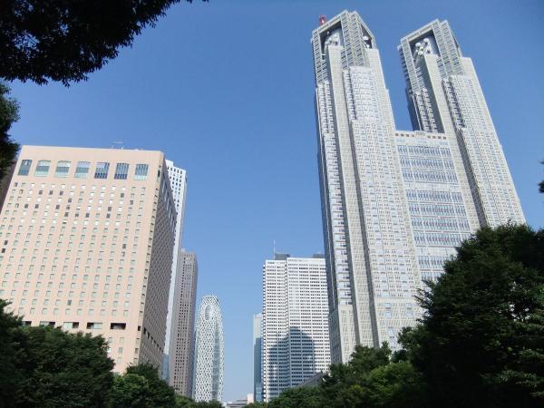東京都庁・新宿副都心・予備写真3〔フリー写真〕