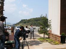SAIのブログ-TV取材1