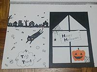 ハロウィンの楽描き