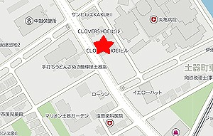 中村うどん地図