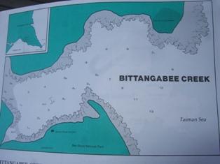 bitangabee creek map
