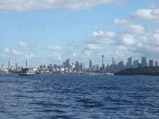 heading to rushcutters bay