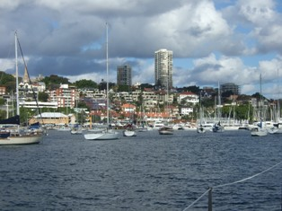 darling point at back