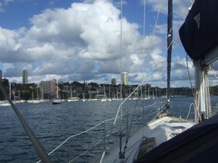yacht club marina ahead