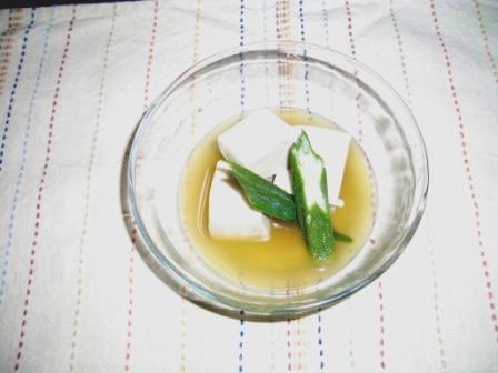 1冷やし高野豆腐