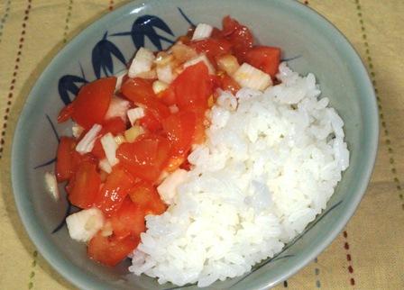 トマトご飯1