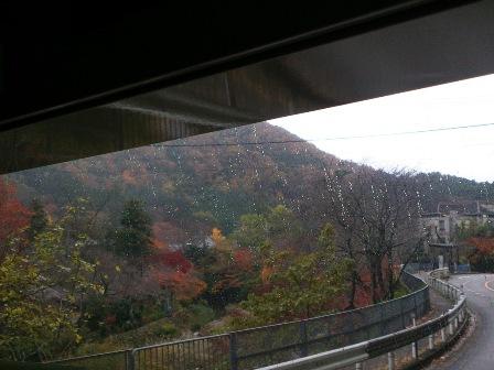 京都から大原バス車窓