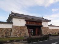 田辺城の城門