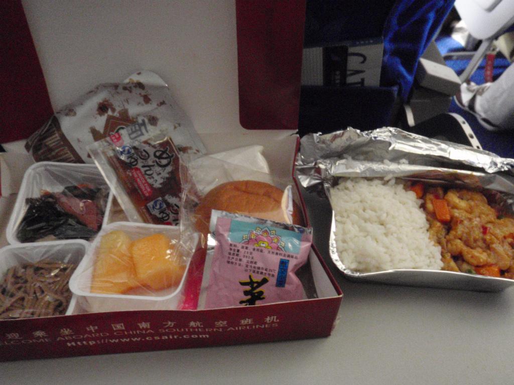 南方航空 機内食