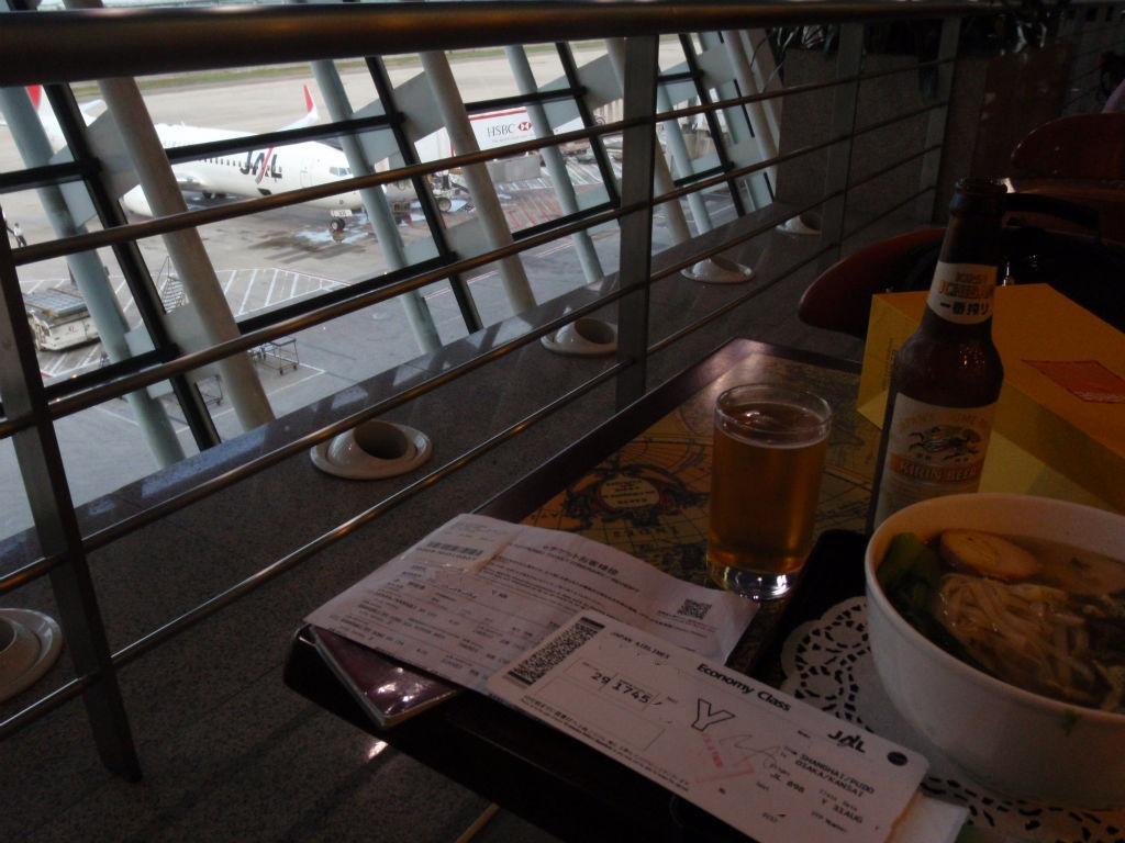 0831上海浦東空港にて