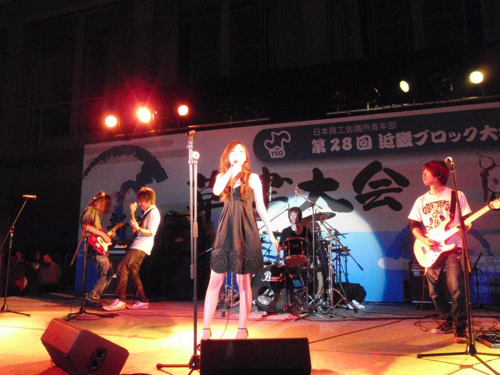 Y2010近畿 懇親会(ライブ)