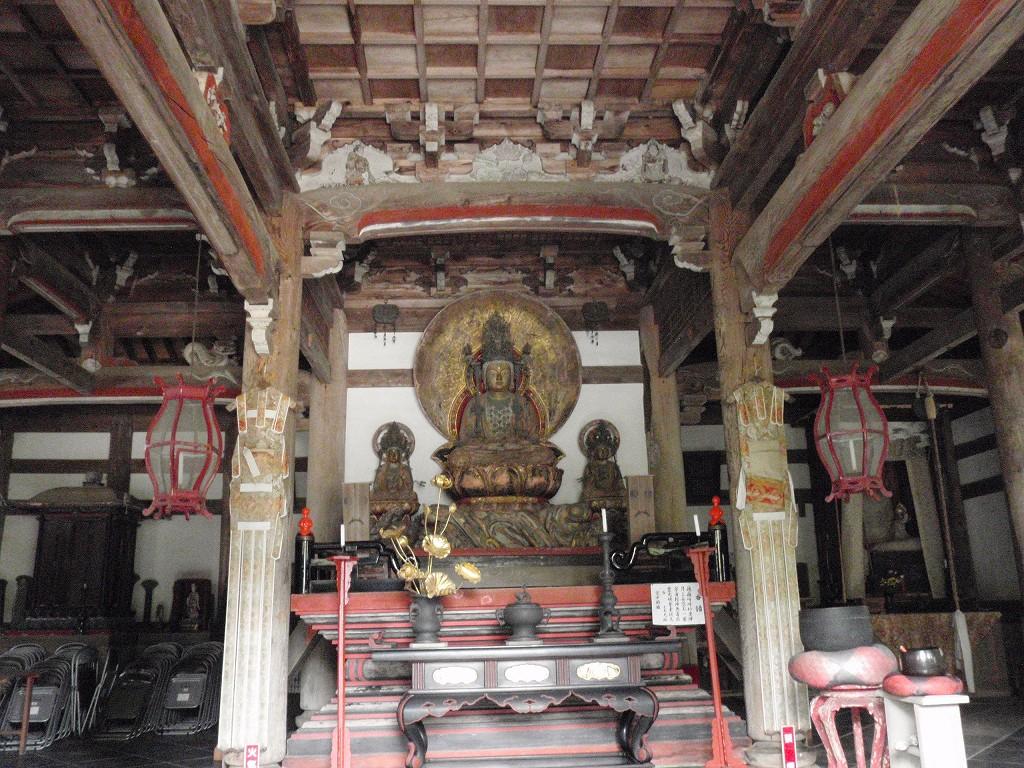 安国寺 釈迦座像