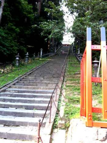 塩竃神社 階段