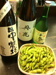 20121014田中農場 丹波黒枝豆