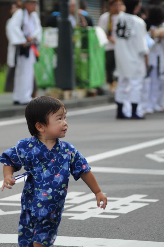 新居浜夏祭り 子ども 昭和通