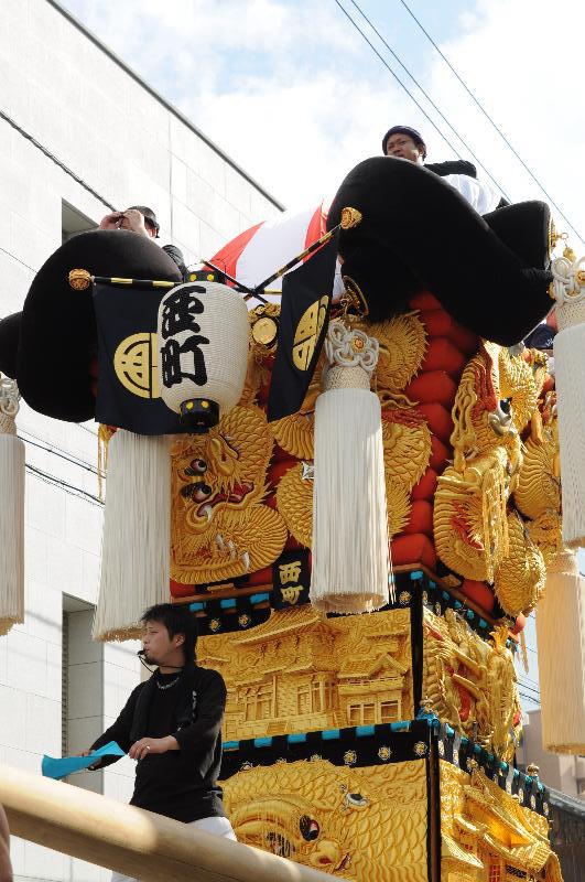 新居浜夏祭り 西町太鼓台 昭和通