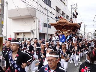岸和田だんじり祭り001