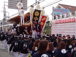 岸和田だんじり祭り005