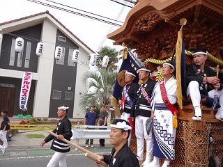 岸和田だんじり祭り006