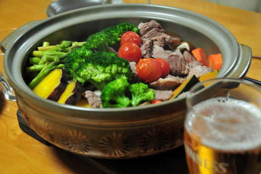 2008-1122-豚ロース蒸し鍋