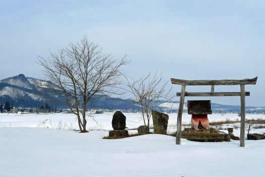 2009-0212-雪原の神社