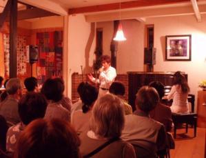 20110521狩野さんの校歌斉唱