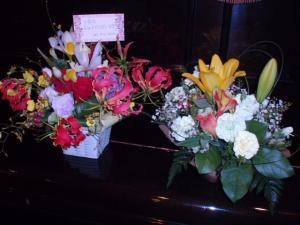 201105215周年記念のお花