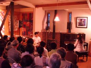 20110521パーカッションとピアノで