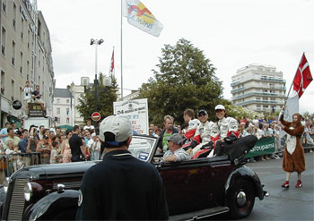 ル・マンのパレード