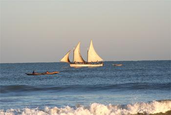 ムロンダヴァの海