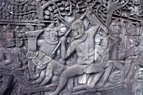 クメール軍とチャンパ軍の戦い