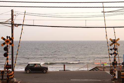 海岸道路とMini