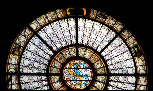 サン・シュルピス教会のステンドグラス