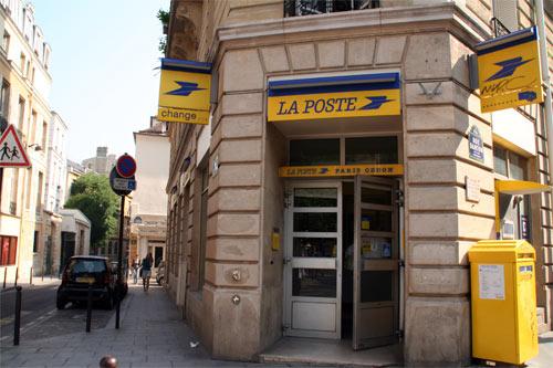 パリの郵便局