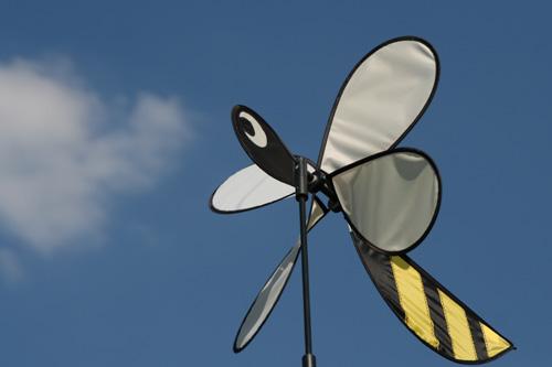 ミツバチの風車