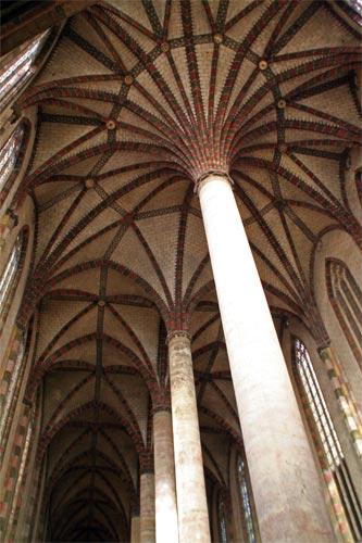ジャコバン修道院の天井