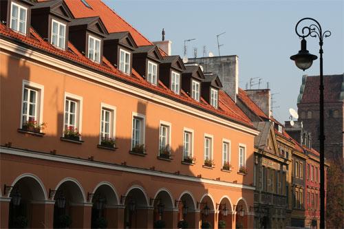 ワルシャワの街並2