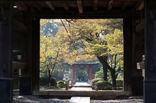 恵林寺の門